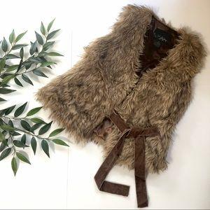 Daytrip Faux Fur Vest